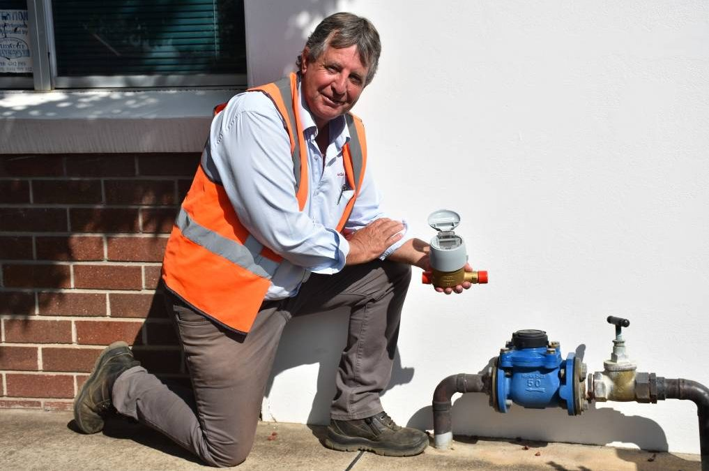 Gunnedah Shire Council will swap out existing water meters for automatic meters