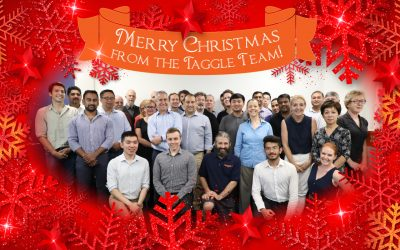 Merry Christmas from the Taggle Team