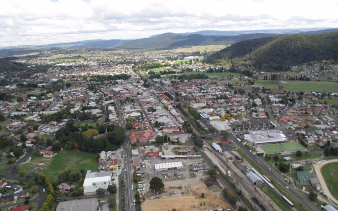 Lithgow City Council installs flow meters as part of their water loss management planning